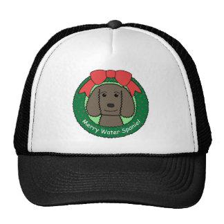 American Water Spaniel Christmas Hat