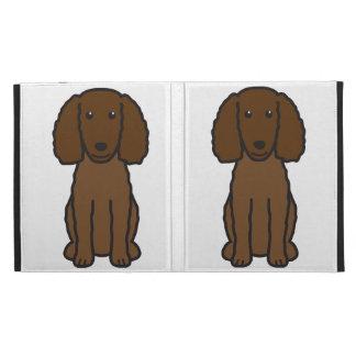 American Water Spaniel Dog Cartoon iPad Case