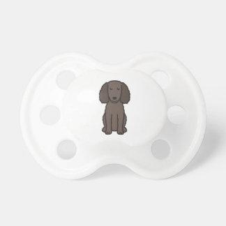 American Water Spaniel Dog Cartoon Baby Pacifiers
