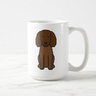 American Water Spaniel Dog Cartoon Coffee Mug