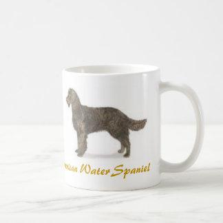 American Water Spaniel, Dog Lover Galore! Basic White Mug