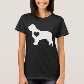American Water Spaniel Heart Dark T-Shirt
