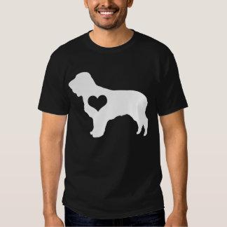 American Water Spaniel Heart Mens Dark T-Shirt