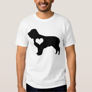American Water Spaniel Heart Mens T-Shirt