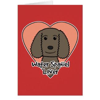 American Water Spaniel Lover Greeting Card