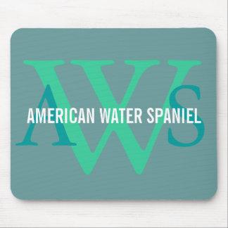 American Water Spaniel Monogram Mouse Pad