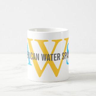 American Water Spaniel Monogram Mug