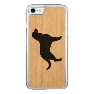 American Water Spaniel Silhouette Carved iPhone 7 Case