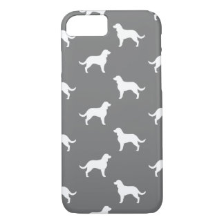 American Water Spaniel Silhouettes Pattern iPhone 7 Case