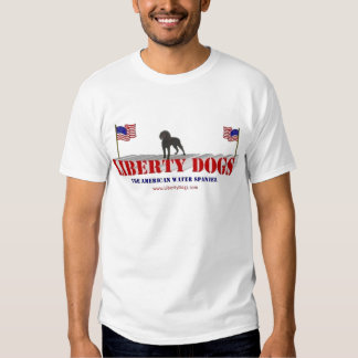 American Water Spaniel with Flags Shirts