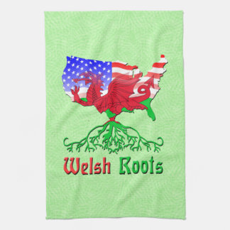 American Welsh Roots Kitchen Towels