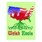 American Welsh Roots Postcards