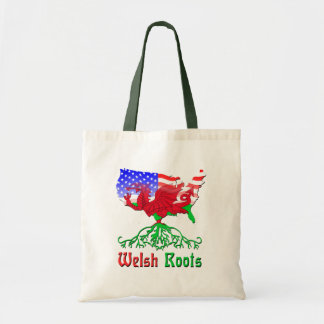 American Welsh Roots Tote Bag