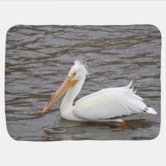 American White Pelican In Breeding Condition Buggy Blankets