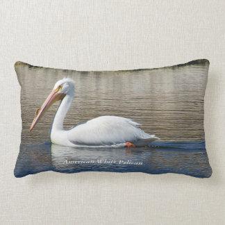 American White Pelican Pillow