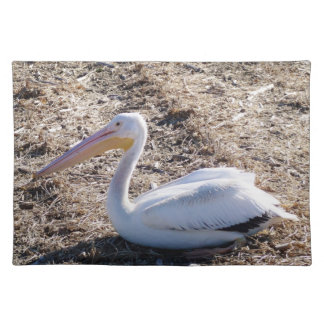 American White Pelican Placemats