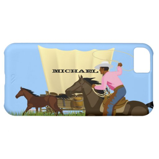 American Wild West Cowboy Life iPhone 5 c Case iPhone 5C Cover