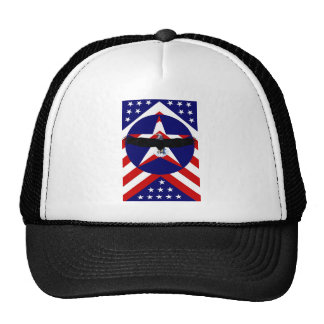 American wings mesh hat