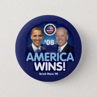 AMERICAN WINS Button