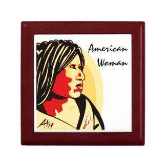 """""""American Woman"""" by Aleta Gift Box"""