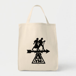 American Youth Hostels Grocery Tote Bag