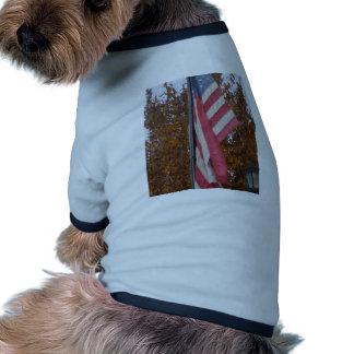 Americana 4th of July Memorial Day Patriotism USA Pet Shirt