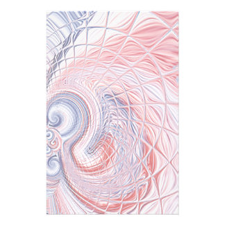 Americana Abstract Faded Swirl Stationery