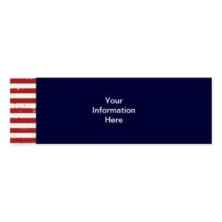 Americana American Flag Skinny Business Card