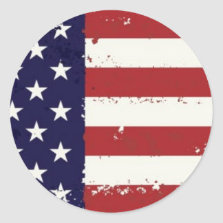 Americana American Flag Sticker