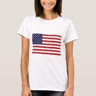 Americana American Flag Women T-shirt