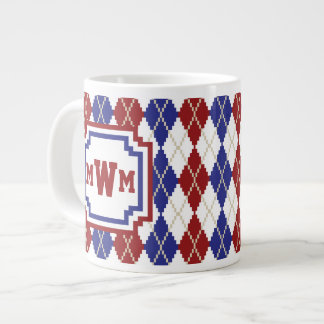 Americana Argyle Specialty Mug Jumbo Mug