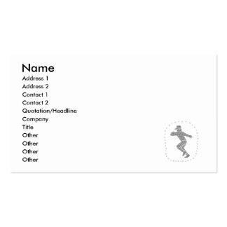Americana Baseball Pack Of Standard Business Cards