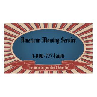 Americana Blue Business Card Template