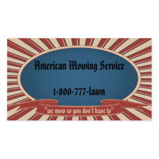 Americana Blue Pack Of Standard Business Cards