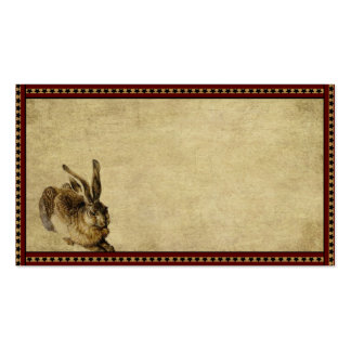Americana Bunny- Prim Biz Cards Pack Of Standard Business Cards