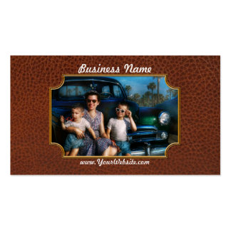 Americana - Car - The classic American vacation Business Cards