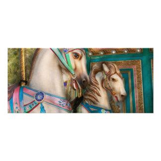 Americana - Carousel beauties Rack Card Template