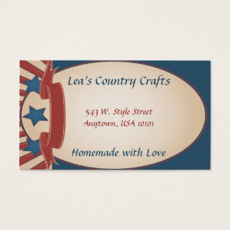 Americana Country Business Card