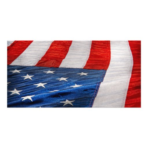 Americana - Flag - Stars and Stripes Picture Card