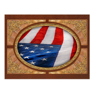 Americana - Flag - Stars and Stripes Post Cards
