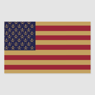 AMERICANA FLAG STICKERS