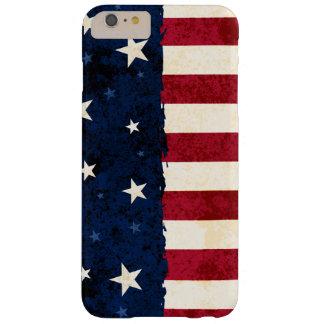 Americana Folk Stars & Stripes Patriotic Barely There iPhone 6 Plus Case