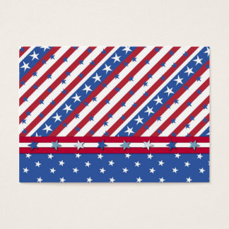 Americana Gift Tag Business Card