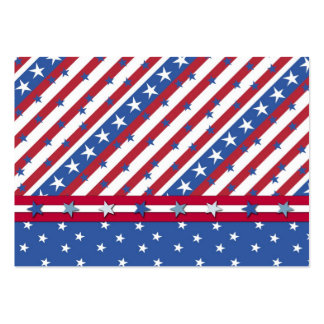 Americana Gift Tag Pack Of Chubby Business Cards