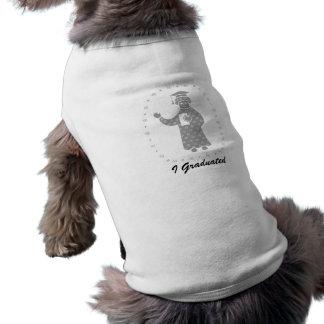Americana Inspired Graduate Doggie Tshirt