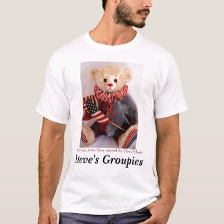 Americana Jester Bear   T-Shirt