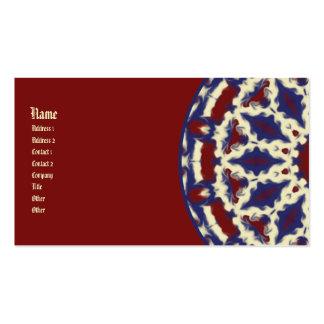 Americana Kaleidoscope Business Card