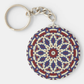 Americana Kaleidoscope Key Ring