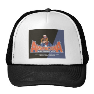 Americana Lesourdesville Amusement Park Monroe OH Trucker Hat