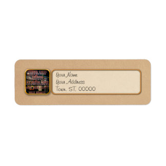 Americana - Menu Return Address Label